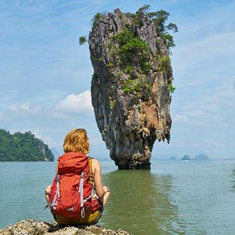 Phang Nga Bay, Phuket, James Bond Island, Thailand