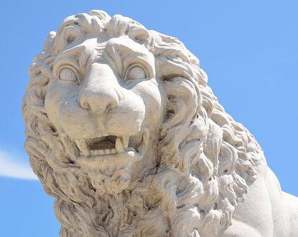 Bridge Of Lions, Lion, Sculpture, Landmark, Tourism
