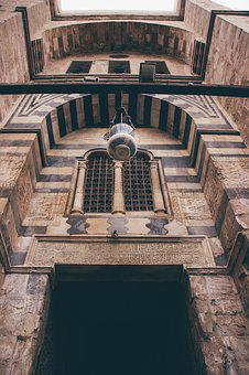 Travel, Old, Architecture, Egypt, Mosque, Cairo