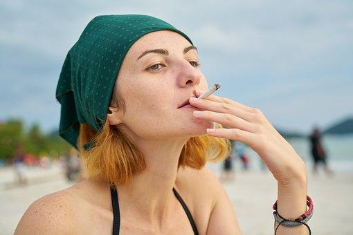 Smoking, Women, Cigarette, Teenager, Addiction, Young
