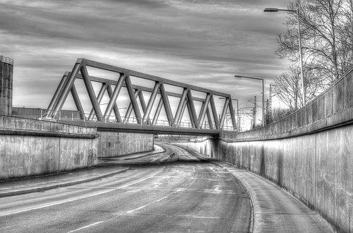 Hdr, Bridge, Emden Germany, Emden, East Frisia