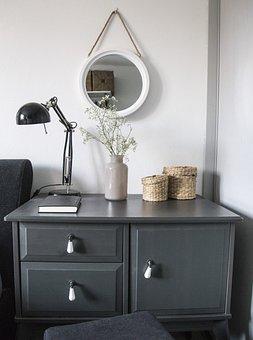Home, Room, Bedroom, Vase, Bed, Interior, Furniture