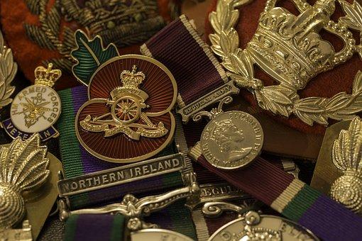 Military, Medals, Award, Badge, Ribbon, War, Honor