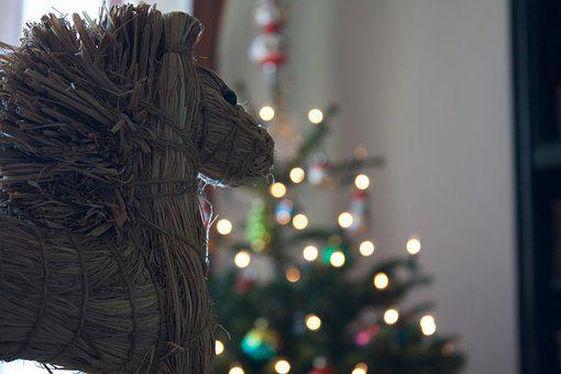 Christmas, Horse, Cute, Sweet, Animal, Seahorses, Gift
