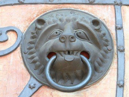 Door Puller, Fash, Old, Portal, Intake, Fitting, Iron