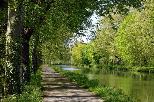 Landscape, Nature, Water, Channels