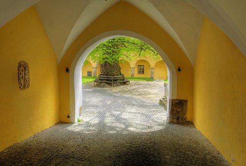Goal, Pen, Monastery, Input, Passage, Hall, Religion