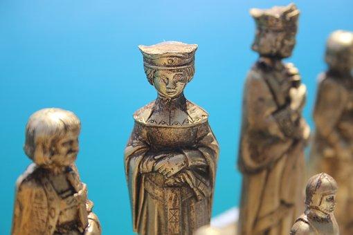 The Queen, Renaissance Chess Piece, Outdoor Chess Piece