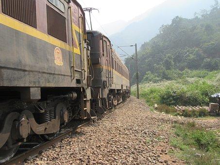Locomotive, Engine, Electric, Railway, Railroad, Train