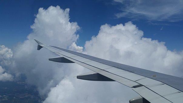 Window Seat, Airplane, Aeroplane