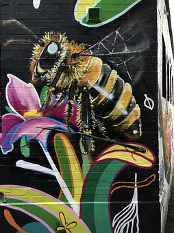 Street Art, Camden Town, London, England