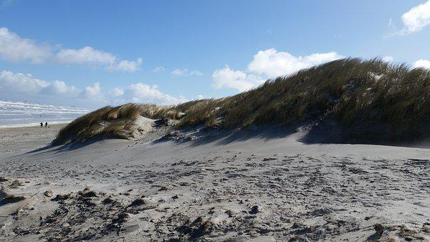 Beach, Dunes, North Sea