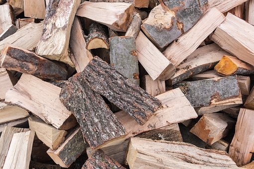 Wood, Fuel, Firewood, Pile Of Wood, Sawn Timber