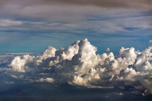 Clouds, Sky, Sky Clouds, Blue, Blue Sky Clouds, Nature