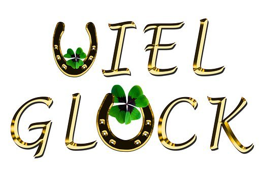 Symbol, Luck, Four Leaf Clover, Horseshoe, Good Luck