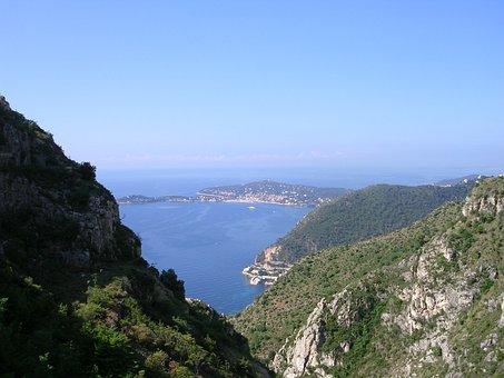 Nice, Sea, France, Mediterranean, Riviera, Water, Azure