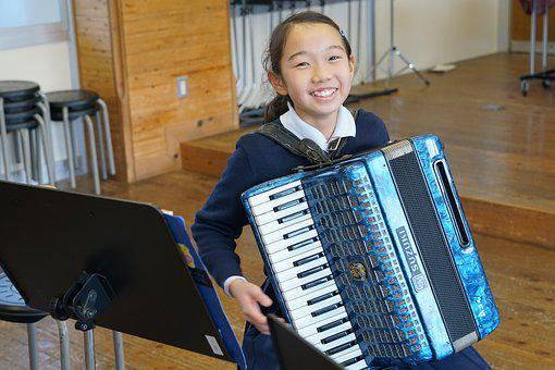 Kids, Music, Accordion