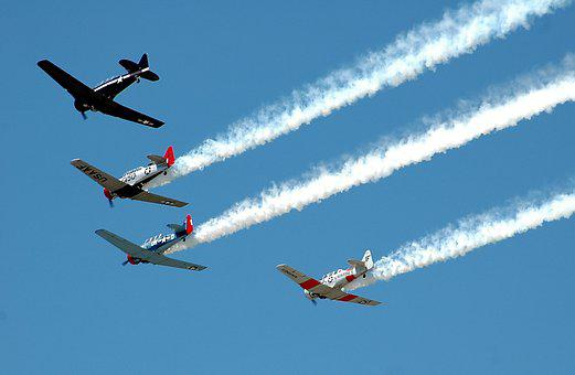 Aircraft, Airplanes, Vintage, Airshow, Event