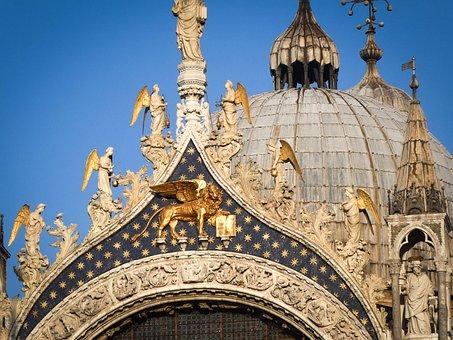 Venice, Basilica, Italy, Landmark, Church, Europe