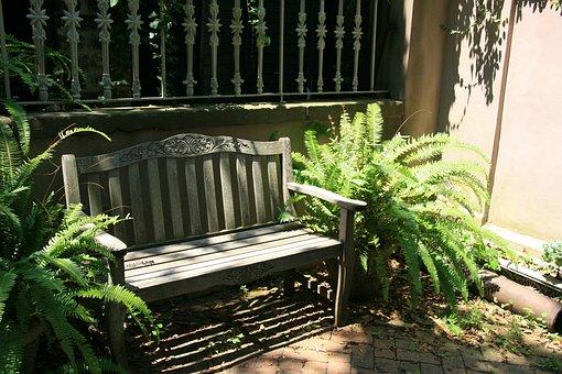 Bench, Garden, Seat