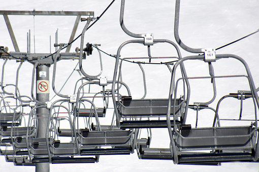Chairlift, Means Of Transport, Go Up, Sit, Winter
