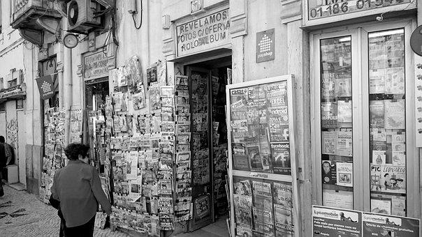Lisbon, City, Tobacco Shop