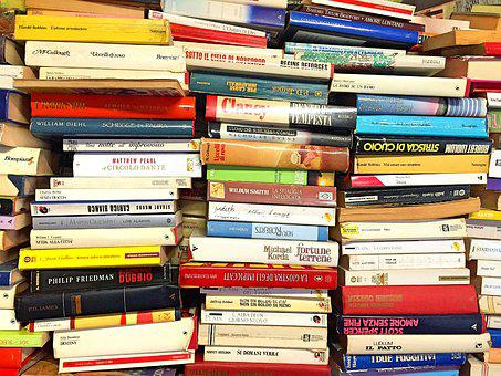 Books, Book Stack, Stack, Literature, Spine, Read