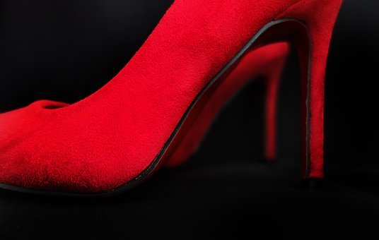 Shoes, Red, Paragraph, Red Boots, Women's Shoes