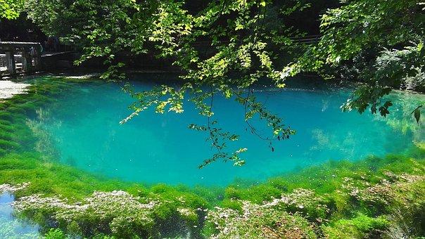 Blautopf, Schöne Lau, Blaubeuren, Source, Origin