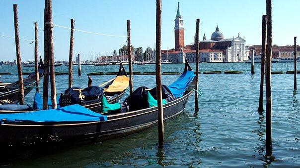 Venice, Gondola, Channel