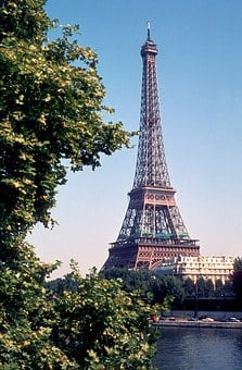 Eiffel Tower, Tour Eiffel, Paris, France, Landmark