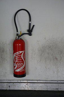 Fire, Fire Extinguisher, Red, Fire Safety, Security