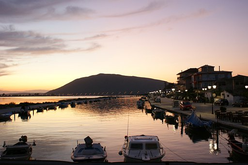 Lefkada, Greece, Lefkas, Sea, Mediterranean, Landscape
