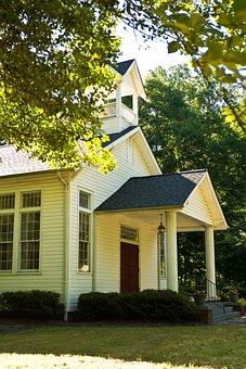 Country, Baptist, Church, Rural, Mountain, Religion