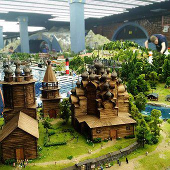 Saint Petersburg, Model, Scale, Kievan Rus, Miniature