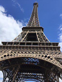 Tower, Eiffel, Paris, France