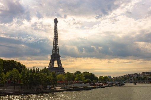 Eiffel Tower, Paris, France, Tower, Eiffel, Landmark