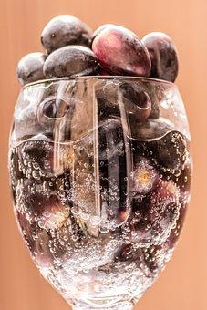 Grapes, Black, Food, Fruit, Wine, White, Red, Vine