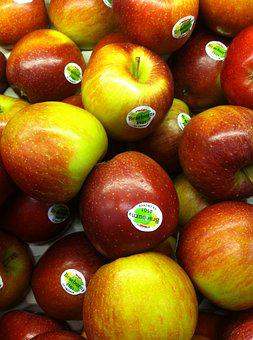 Apples, Healthy, Fruit, Diet, Fresh, Organic