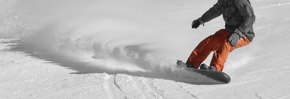Snowboarders, Ride Snowboard, Winter, Runway, Drive