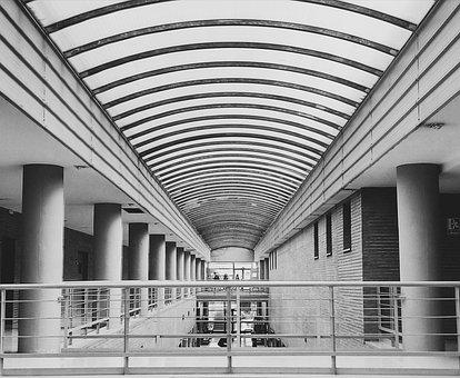 University, Faculty, Malaga, Gallery, Building
