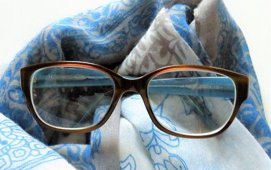 Glasses, Ladies Glasses, Sehhilfe, Progressive, Large