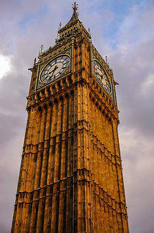London, Big Ben, Elisabeth Tower, Elisabeth, England