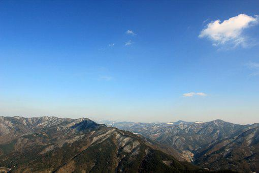 Mountain, Choice, Gangwon Do, Cloud, Sky, Landscape