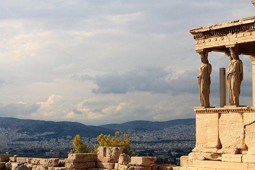 Acropolis, Greece, Ancient, Athens, Greek, Europe