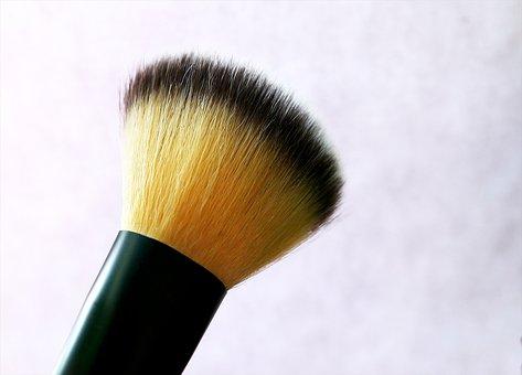 Rouge Brush, Cosmetics, Rouge, Brush, Cheeks, Powder