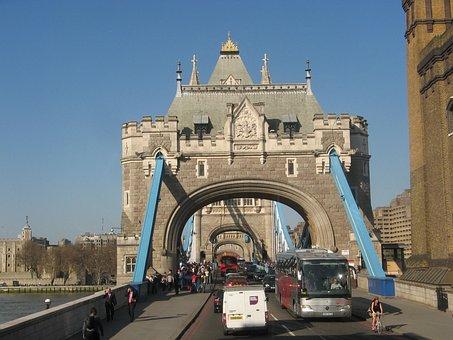 London, Bridge, Britain, England, Tower