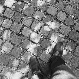 Walk, Travel, First Step, Life, Insistent, Street