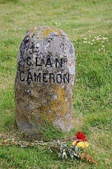Tombstone, Battlefield, Scotland, Grave, War, History