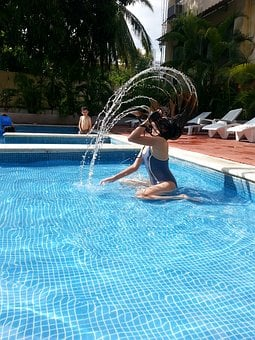 Pool, Children, Fun, Pool Sports, Joy, Happy Children